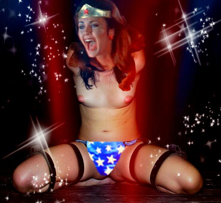 Wonder Woman Auction Block