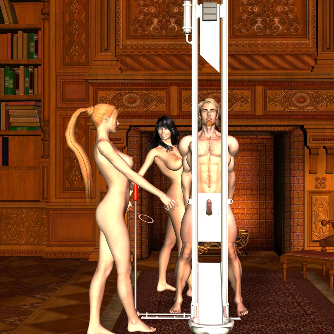 Guillotine erotic fiction exploited videos