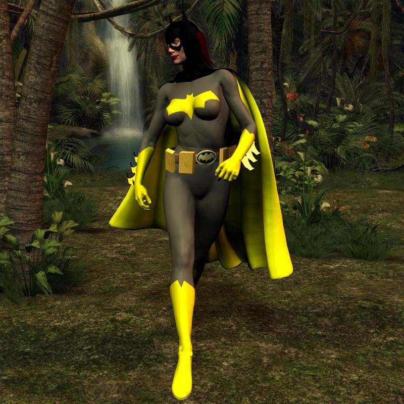 Have thought Batgirl bondage stories something is